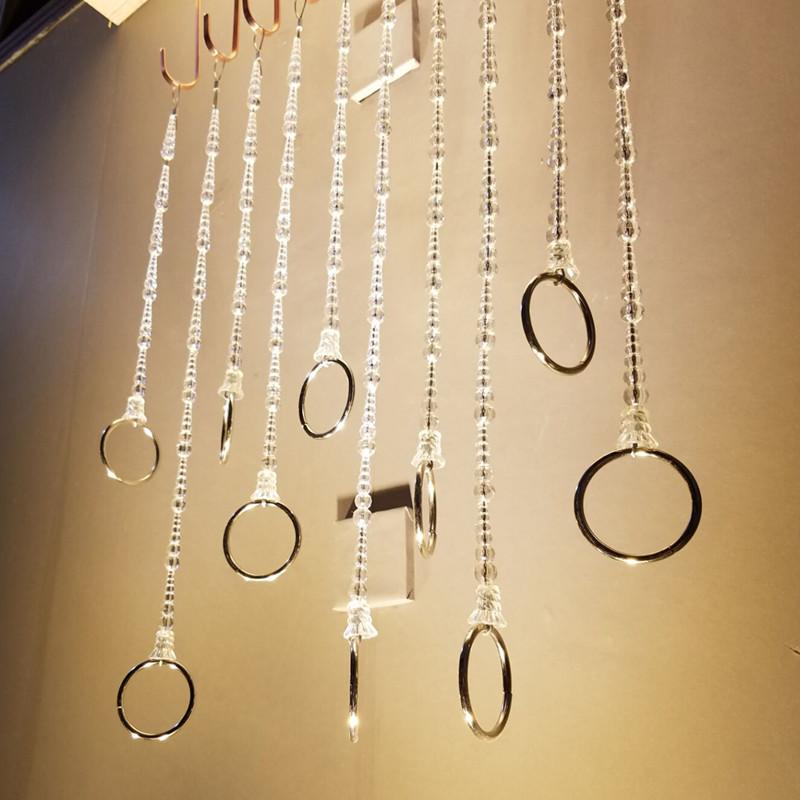Одежда магазин кольца вешать весить одежду полка дисплей на стена подключить весить одежду одежда цепь кристалл кран кольцо провод вешать полка