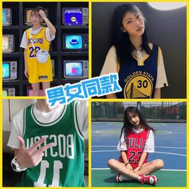 湖人队23号詹姆斯球衣科比背心男女情侣欧文库里篮球服外穿韩版bf