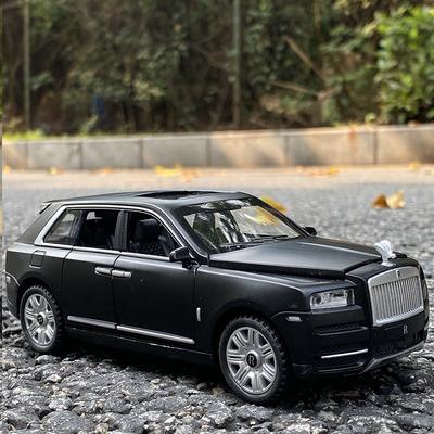 劳斯莱斯库里南合金车模声光回力7开SUV越野车儿童玩具车汽车模型