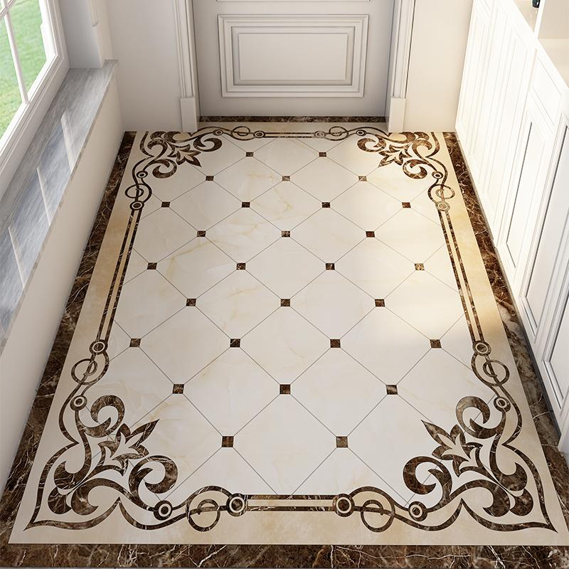 门前玄关门厅欧式入户门口家用脚垫进门地毯简约门垫地垫子可裁剪