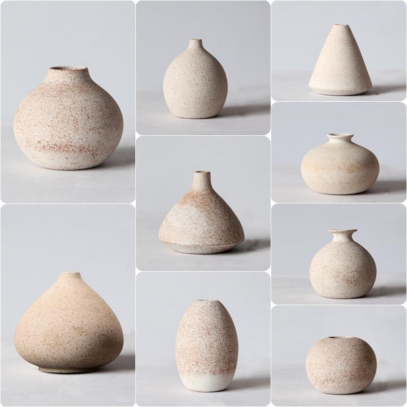 陶罐复古花瓶创意花器粗陶器居家饰品摆件客厅卧室软装简约工艺品