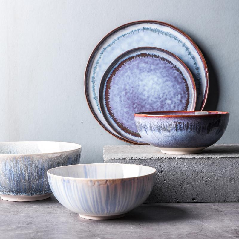 泡面碗大碗汤碗面碗创意个性家用陶瓷碗单个大号沙拉碗 北欧餐具