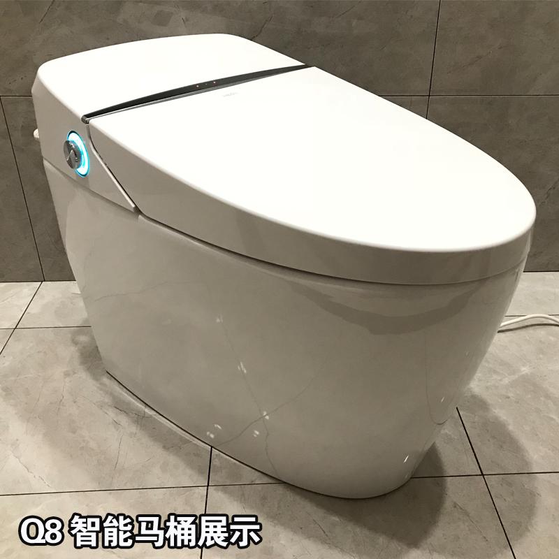 恒洁卫浴Q8智能马桶HCE800A01冲洗烘干自动加热恒洁坐便器智能