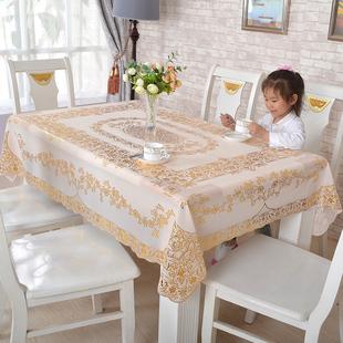燙金桌布防水防油免洗枱布PVC長方形北歐式茶几墊耐高温餐墊