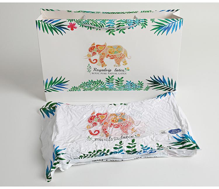 泰国皇家进口天然狼牙颗粒按摩乳胶枕成人枕头枕芯颈椎橡胶记忆枕限1000张券