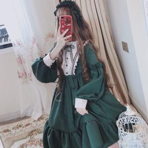 lolita裙洛丽塔白菜价日常裙子正版原创轻lo学生便宜厂货萝莉塔裙