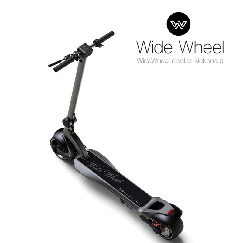 满2599.00元可用1元优惠券Wide Wheel 水星动力新款电动滑板车高速代步车双驱续航新品现货