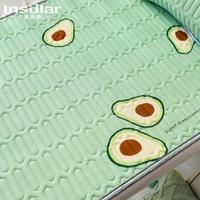 夏季防滑婴儿乳胶凉席枕头儿童床