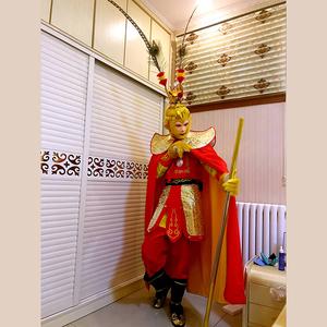 圣诞节元旦新款美猴王套装成人孙悟空的衣服 齐天大圣服装演出服