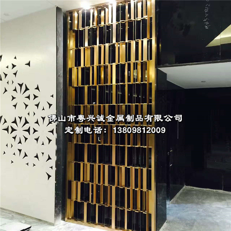 Простой из розового золота нержавеющей стали решёток китайский стиль отели нержавеющей стали экран континентальный KTV пирсинг резьба сделанный на заказ