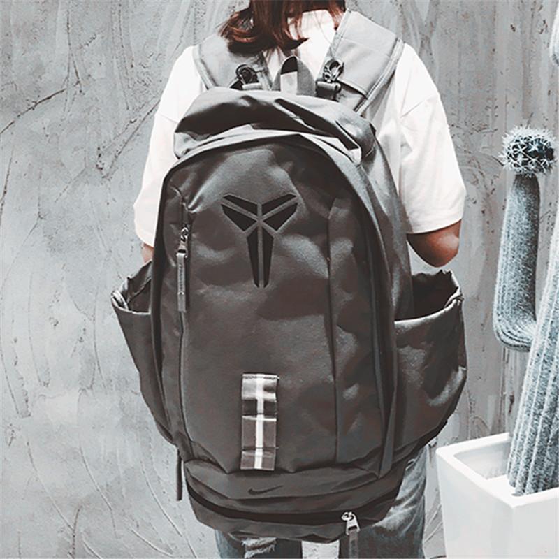 科比運動雙肩背包kobe學生書包男女籃球包電腦包戶外旅行大容量包