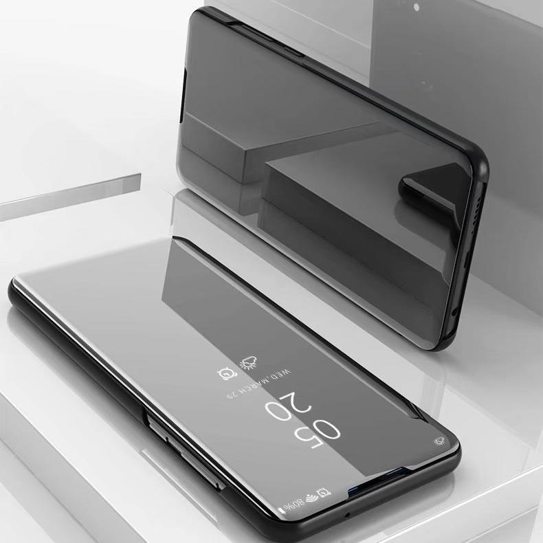 三星S7edge手机壳翻盖超薄镜面G9350保护套智能休眠S7曲面屏5.5寸