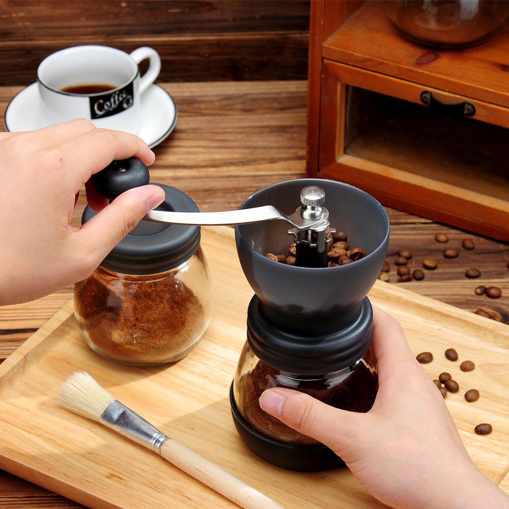 パーフェクトBEMYZONE水洗い豆挽き機コーヒー豆研削機手打ち家庭用小型陶手作業粉砕器具