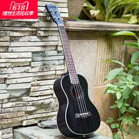 Эндрю 23 дюйма укулеле 26 дюймов уклетле укулеле персиковое сердце черный Маленькая гитара