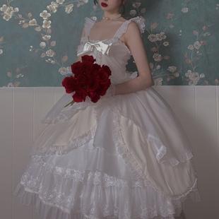 大裙摆 芭蕾裙 野天鹅jsk withpuji原创设计 lolita洋装 复杂款