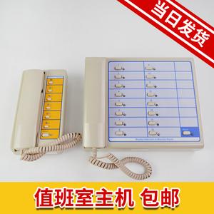 电梯配件 多局对讲机NBT NKT12(1-1)2A 4A 6A 12A 值班室监控主机