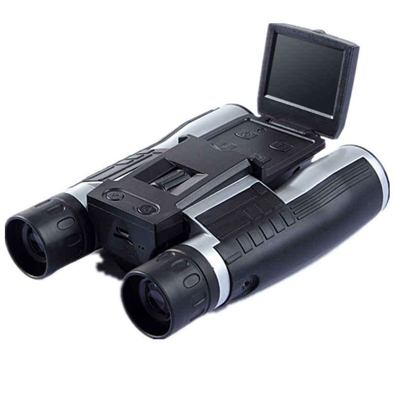 HD digital camera telescope motion camera field camera telescope 12x magnification camera video