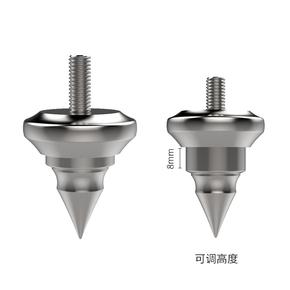 音响脚钉音箱避震钉脚不锈钢 AudioBastion防震M6M8M10发烧减震钉