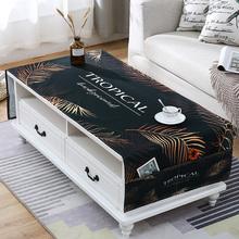 キャビネット防塵ガラステーブルベッドサイドのテレビキャビネットポリ塩化ビニールのテーブルクロス防水オイル使い捨てテーブルマットは、北欧の柔らかいマット