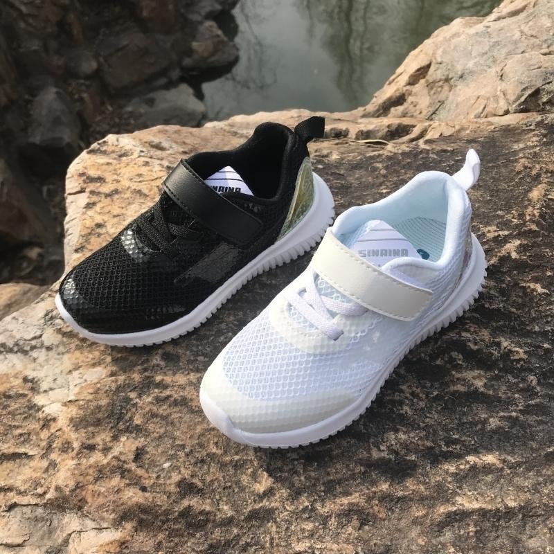 专柜同款斯乃纳童鞋新款SS1910021男女童单网运动鞋舒适跑鞋20221