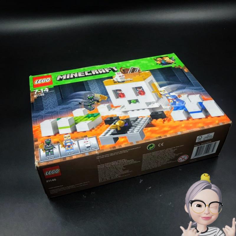 特价现货乐高lego 21145像素骷髅头(非品牌)