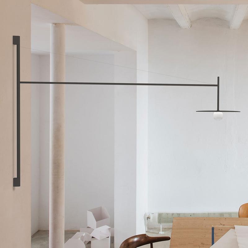 TemVibiafull长臂灯北欧设计样板房书房民宿餐厅工作室过道壁灯