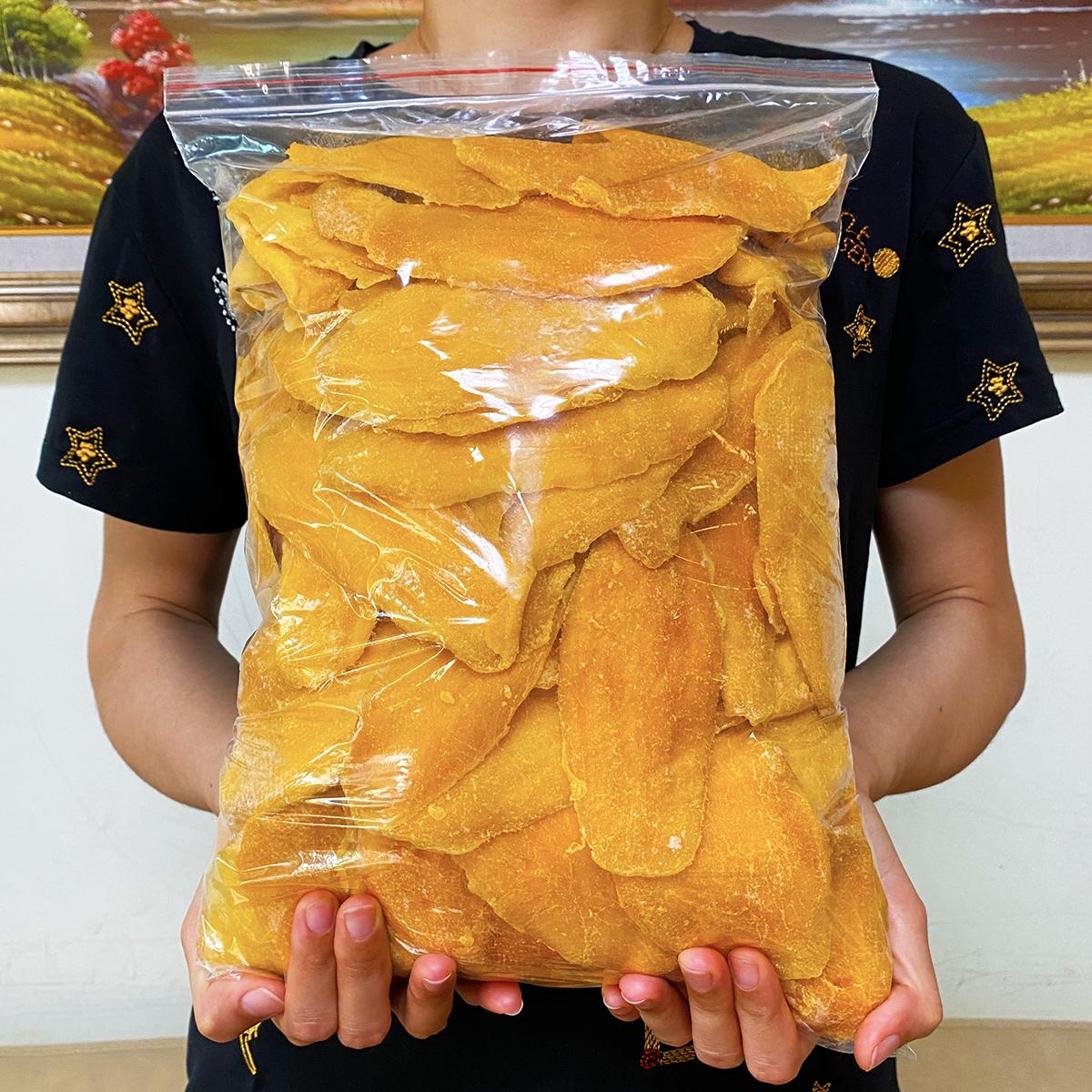 菲律宾风味芒果干500g水果干大礼包果脯蜜饯果干一整箱装零食包邮图片