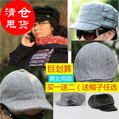 Spring and autumn British painters hats mens progressive hats literary womens octagonal cap retro newspaper childrens hats lovers Beret trend