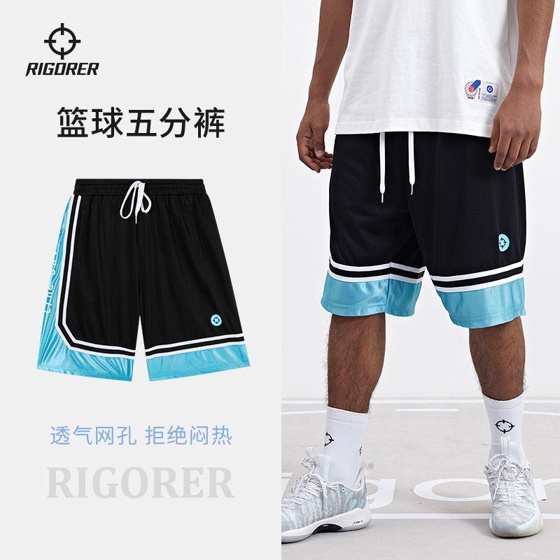 准者篮球裤短裤男宽季夏松美训五分裤运动速P干中裤潮流式练裤子