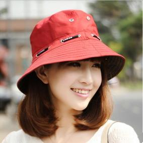 夏季中年老年遮阳盆帽渔夫旅游帽子