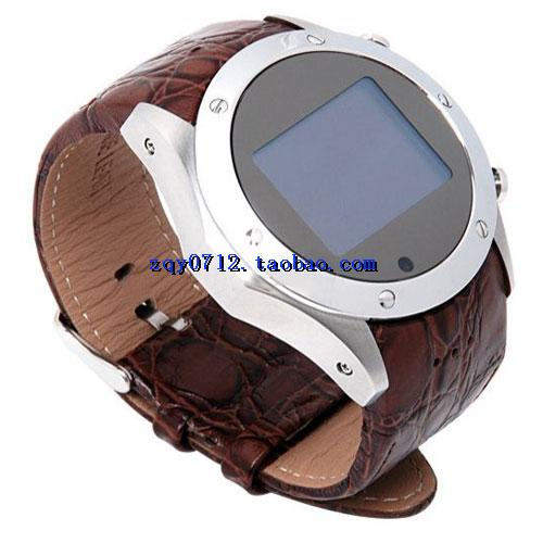 Ultra thin smart watch mobile phone 12 megapixel photo video mobile phone male and female watch sound quality HD anti noise