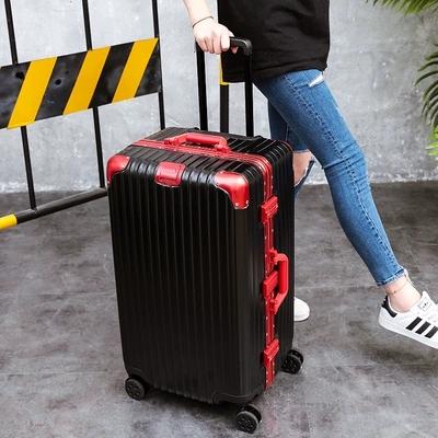 32寸大容量密码万向轮拉杆箱ins网红超大行李托运铝框箱抖音同款