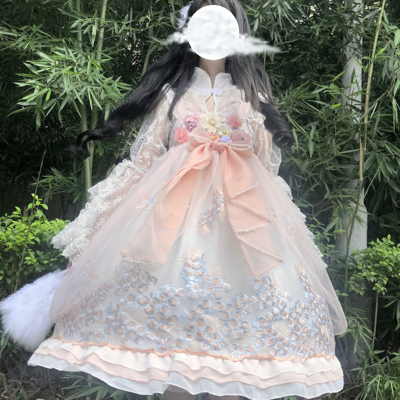 Sweet Lolita Dress, Gemini summer daily girlfriends, Lolita Dress and pop Gothic genuine Lolita Princess Dress