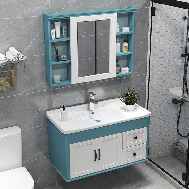 碳纤维组合卫生间现代简约浴室柜