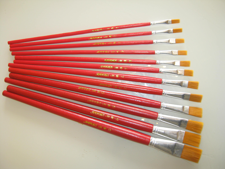 Строка карандаш один живопись карандаш одноместный филиал гуашь карандаш щетка щетка сын щетка нейлон кисть бесплатная доставка