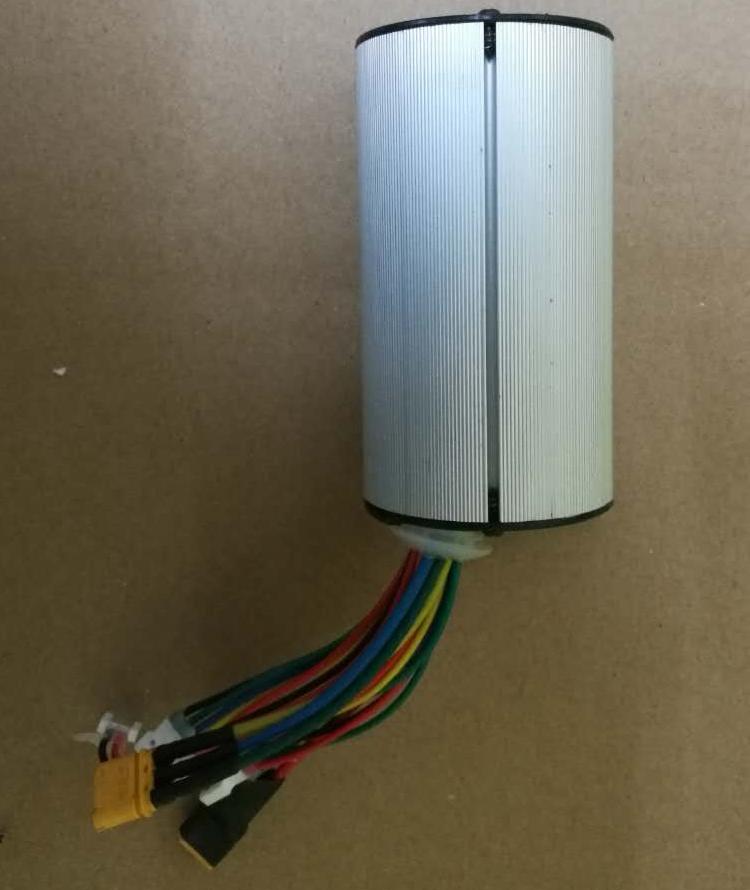 碳纤维电动滑板车控制器24V250W直流无刷电机控制器滑板车配件