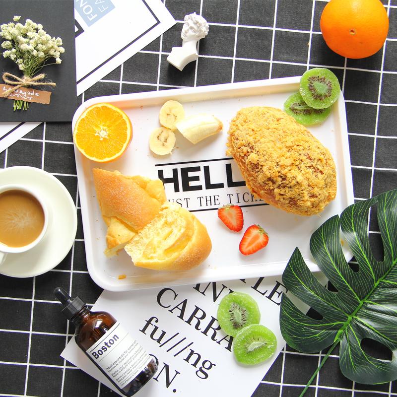 淘宝拍摄道具摆件 美食品烘焙摄影套装ins拍照背景布托盘卡片干花