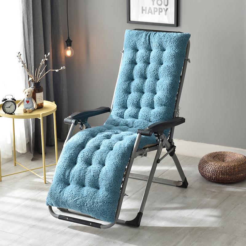 加厚冬季躺椅垫子折叠摇椅座垫椅垫办公室防滑垫坐垫棉垫靠垫通用
