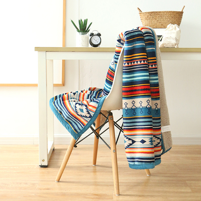 Thicken Coral Fleece Blanket Winter Thicken Office Lunch Break Cover Leg Small Blanket Napping Blanket Sofa Blanket Cover Blanket