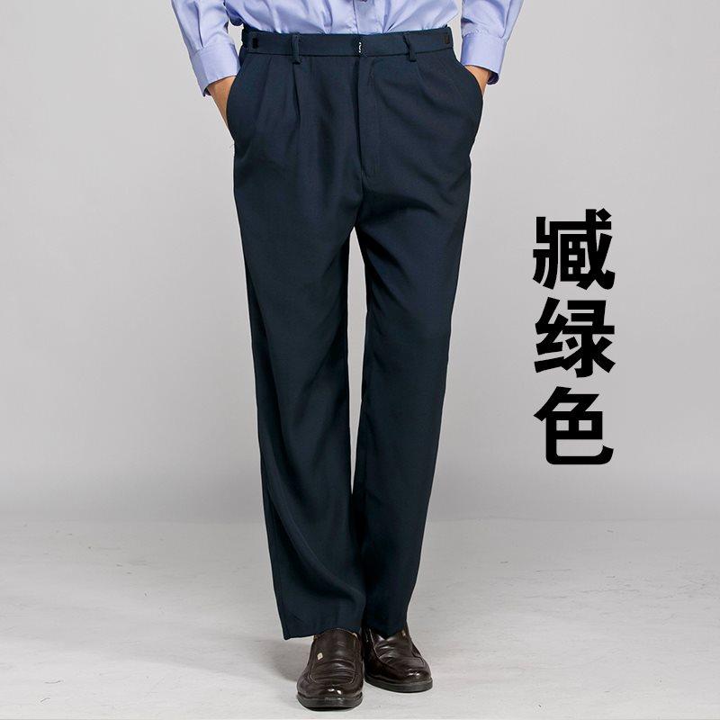 Summer security suit pants trousers thin property security suit summer suit pants security work suit summer uniform men