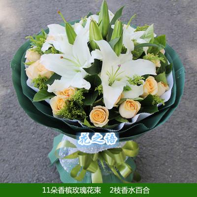 11朵33朵99朵红玫瑰鲜花速递重庆市江津区合川区同城花店送花上门
