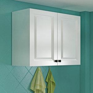 简约欧式厨房吊柜墙壁柜挂墙式家用卧室阳台卫生间浴室挂柜储物柜