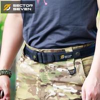 第7区战术狩猎腰带男户外运动尼龙休闲加厚织带魔术贴粘贴结实耐