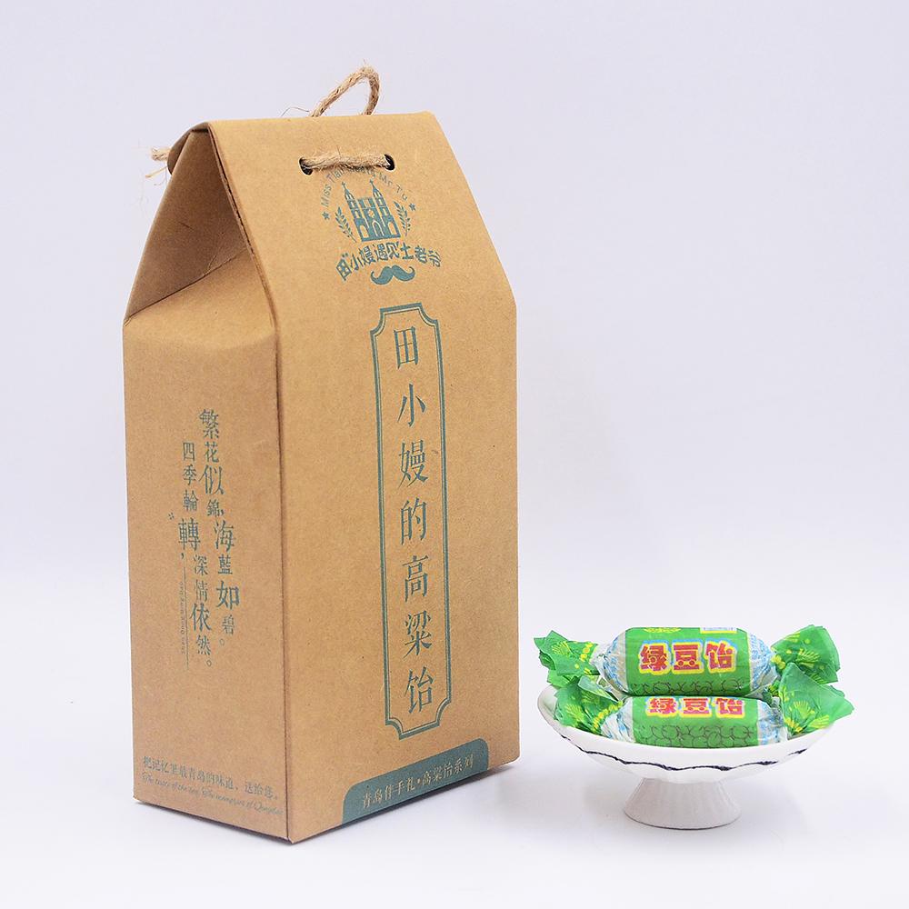 正宗青岛特产 绿豆味 高粱饴软糖 立式礼盒装 田小嫚遇见土老爷