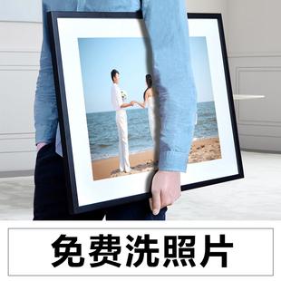 洗照片a3大尺寸相框挂墙创意7 16寸相片墙定制组合连体做成