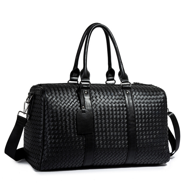 European and American fashion woven travel bag 2020 new travel bag large capacity long and short distance business travel luggage bag
