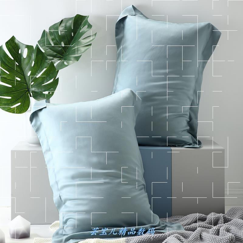 Lencier high elastic a pair of pure cotton feather silk cotton single double pillow core high pillow low pillow comfortable beat 2