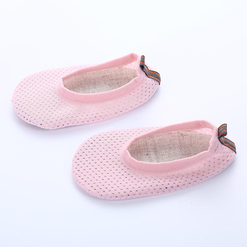 地板袜夏宝宝防滑底网眼儿童袜套夏季婴儿鞋袜1-3薄款居家鞋厚底