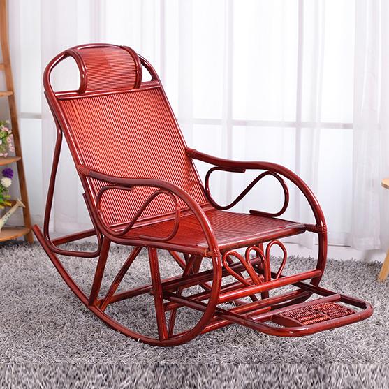 摇椅沙发椅子休闲椅躺椅藤椅睡椅中老年午休阳台逍遥椅懒人椅包邮