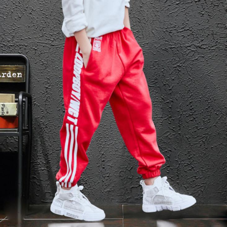 男童裤子运动裤2019新款儿童秋冬款加绒休闲裤大童冬季洋气韩版潮